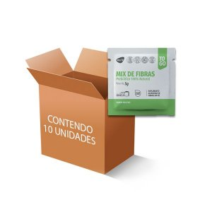 Mix de Fibras Prebiótico 100% Natural Like Fit com 10 sachês
