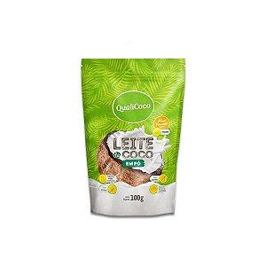 Leite de Coco em Pó Zero Lactose QualiCôco 100g
