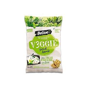 Snack V3ggie Cream Cheese com Ervas Zero Glúten, Zero Lactose Veggie Belive 35g
