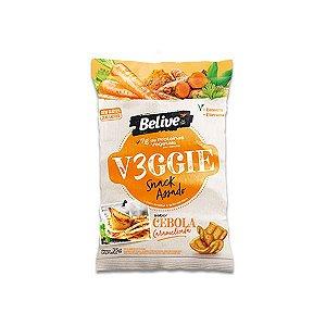 Snack V3ggie Cebola Caramelizada Zero Glúten, Zero Lactose Veggie Belive 35g