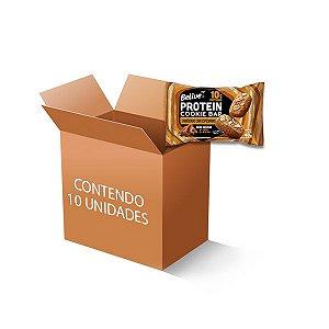 Cookie Bar Protein Amêndoas com Especiarias Zero Leite, Zero Açúcar Belive contendo 10 pacotes de 48g cada