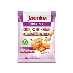 Cookies Sem Glúten, Integral Castanhas do Pará e de Caju Jasmine 150g