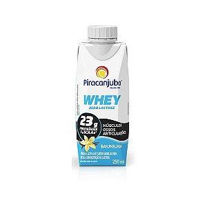 Whey Zero Lactose Baunilha Piracanjuba 250ml