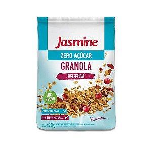 Granola Zero Açúcar Jasmine Vegan Superfrutas Craberry e Goji 250g