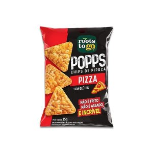 Popps Chips De Pipoca Pizza Sem Glúten Roots To Go 35g