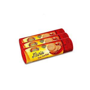 Biscoito Liane Maria contendo 3 unidade de 200g cada