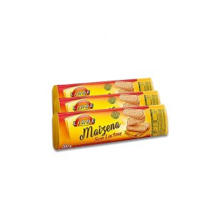 Biscoito Liane Maizena contendo 3 unidade de 200g cada