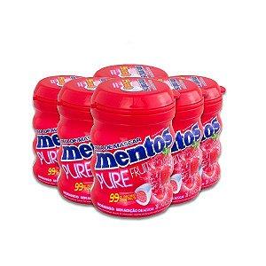 Mentos Garrafa Pure Fresh Morango Contendo 6 Frascos Com 28 Unidades Cada