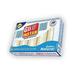 Gli Instan Glicose Instântanea Natural Lowçucar contendo 5 sachês de 15g cada