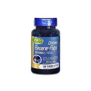 Colágeno Tipo II Ósteo Regeneflex Unilife contendo 30 comprimidos