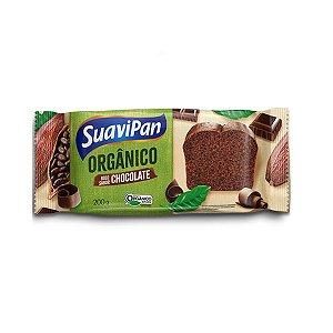 BOLO DE CHOCOLATE ORGÂNICO SUAVIPAN 200g