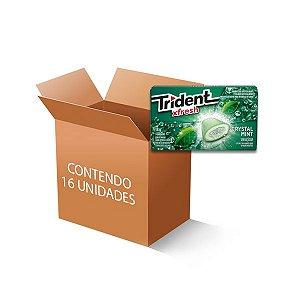 Trident Xfresh Box Menta contendo 16 caixas de 18g cada