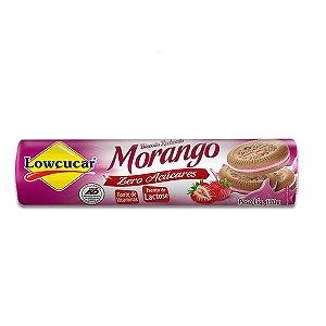 Biscoito Recheado Morango Zero Lactose, Zero Açúcar Lowçucar 120g