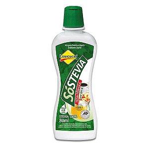 Adoçante SóStevia 100% Stevia Lowçucar 80ml