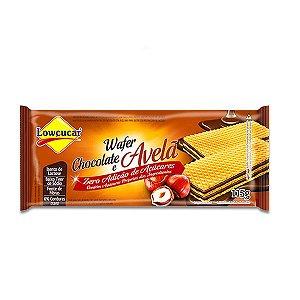 Biscoito Wafer Chocolate e Avelã Zero Lactose, Zero Açúcar Lowçucar 115g