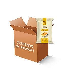 Bolinho Zero Glúten, Zero Açúcar Baunilha Celivita contendo 12 unidades de 35g cada