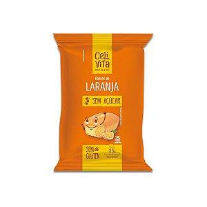 Bolinho Zero Glúten, Zero Açúcar Laranja Celivita 35g