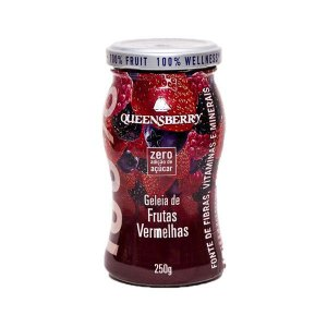 Geleia Wellness Queensberry 250g Framboesa