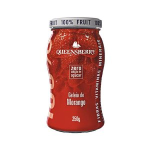 Geleia Wellness Queensberry 250g Morango