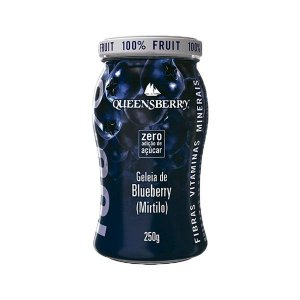Geleia Wellness Queensberry 250g Blueberry