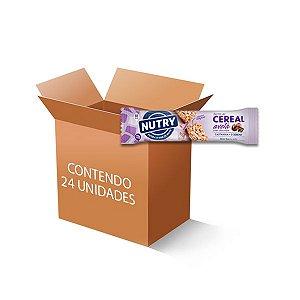 Barra De Cereais Nutry Avelã C/chocolate C/24