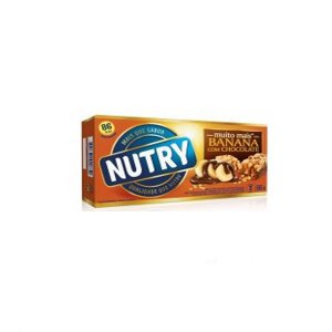 BARRA DE CEREAIS NUTRY BANANA C/ CHOCOLATE C/3