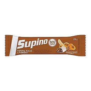 Supino Light Banana, Nozes E Damasco C/cobertura Sabor Chocolate Ao Leite 24g