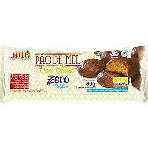 Pão De Mel Hue Zero Glúten Coberto Com Chocolate Vegano 60g