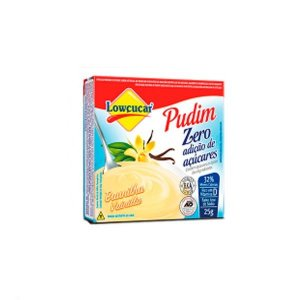 Pudim Baunilha Zero Açúcares Lowçúcar 35g