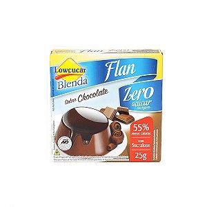 Flan Blenda Chocolate Com Sucralose Lowçúcar 25g