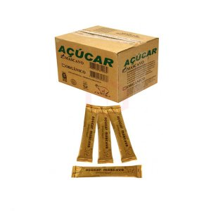 Açúcar Mascavo Junior com 250 Sachês De 6g Cada