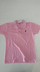 Camisa Polo - Rosa