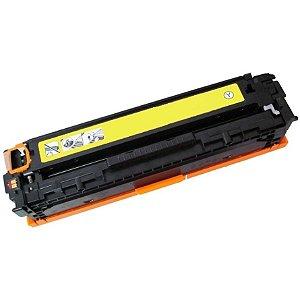 Toner Compatível HP CP1025 | CP1025NW | CE312A - Amarelo | Yellow 1k