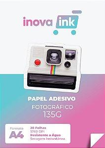 Papel adesivo fotográfico Inova Ink 135 gramas