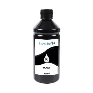 Tinta para Cartucho Brother LC107 Black 500ml Inova Ink