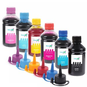 Kit 6 Tintas Inova Ink Compatível EcoTank L805 250ml