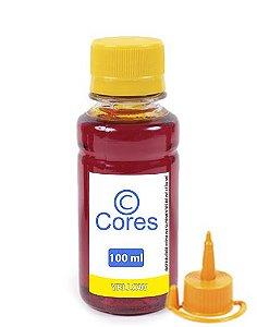 Tinta para Epson EcoTank L495 Yellow 100ml Cores