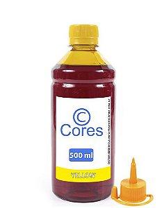 Tinta para Epson EcoTank L380 Yellow 500ml Cores