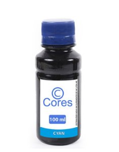 Tinta para Cartucho Canon CL54 Cyan Corante 100ml Cores