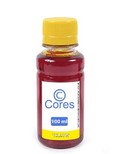 Tinta para Cartucho Canon CL54 Yellow 100ml Cores