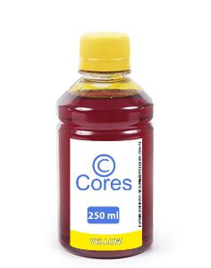 Tinta para Cartucho Canon CL54 Yellow Corante 250ml Cores