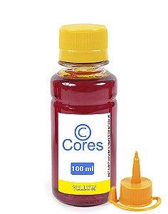 Tinta para Epson EcoTank L395 Yellow 100ml Cores