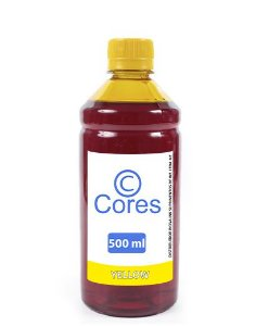 Tinta para Hp Deskjet Ink Advantage 1115 Yellow 500ml Cores