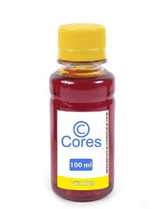 Tinta para Hp Deskjet Ink Advantage 1115 Yellow 100ml Cores