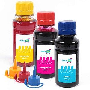 Kit 3 Tintas para Epson EcoTank L375 100ml  Inova Ink