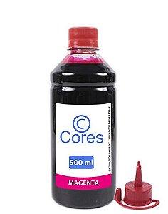 Tinta para HP GT 116 |GT51|GT52 500ml Magenta Cores