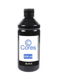 Tinta para Cartucho Epson XP231|XP 431|XP241 Black 500ml Cores