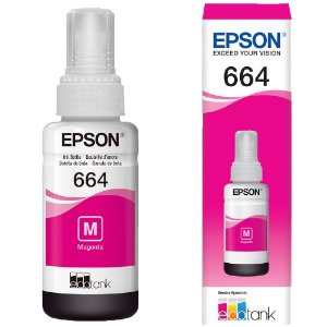 Refil Epson EcoTank L396 Magenta Original 70ml
