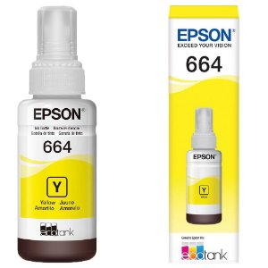 Refil Epson EcoTank L120 Yellow Original 70ml