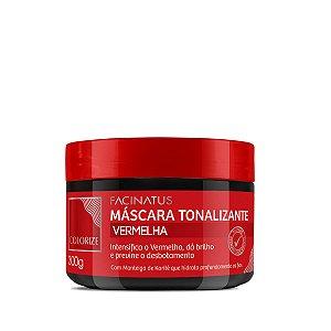 Máscara Tonalizante Vermelha - 300g